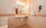 Люкс двухместный двухкомнатный высшей категории (мягкая мебель, ванная)